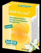 Mehr über biofitt MSM Pro 1000